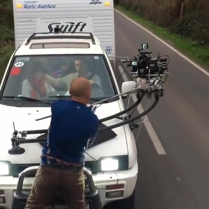 Enlace a Y así es cómo se graba una escena que tiene lugar en un coche en marcha