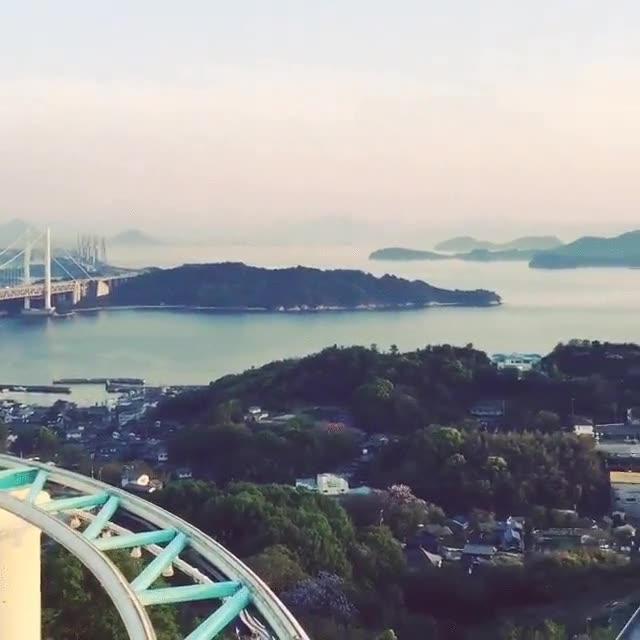 Enlace a Montaña rusa a pedales. Una de estas maravillas solo podía estar en Japón