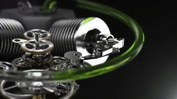 Enlace a El alucinante aspecto de un reloj hidromecánico