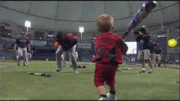 Enlace a Será un gran bateador cuando sea mayor