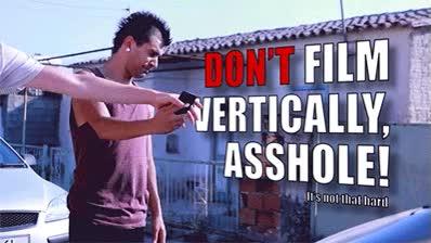 Enlace a Consejo para todos aquellos que graban vídeos en vertical