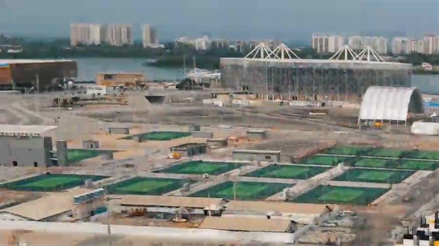 Enlace a Construyendo la ciudad olímpica de Río
