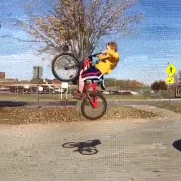Enlace a La ejecución del salto es perfecta. El problema es aterrizar con estilo