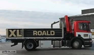 Enlace a Aparcar el camión nivel: like a boss