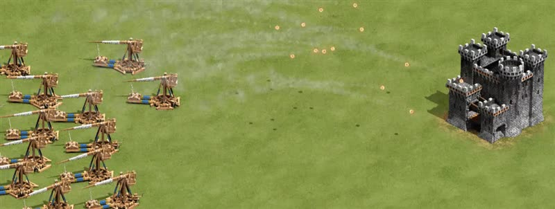 Enlace a Age of Empires II con las físicas de los juegos de hoy en día