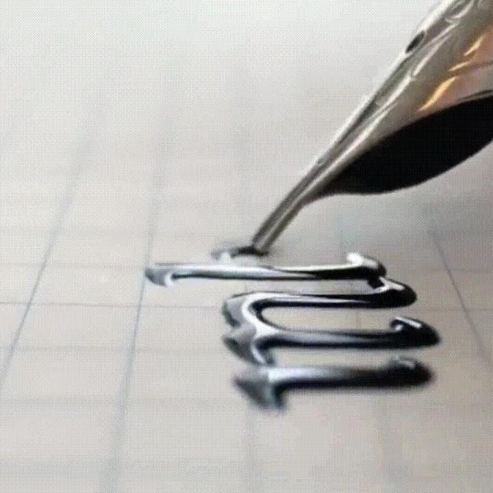 Enlace a La hipnótica y plancentera sensación de ver escribir con tinta