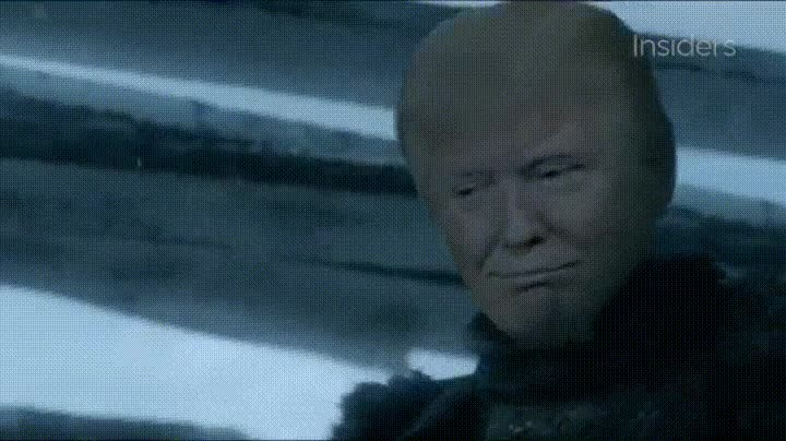 Enlace a Donald Trump quiere ser Lord Comandante del Muro