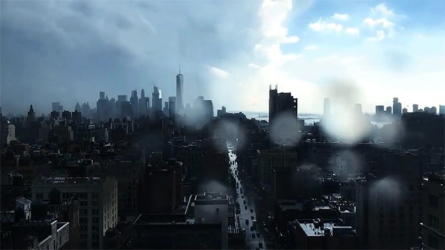 Enlace a Timelapse de una tormenta sobre Manhattan