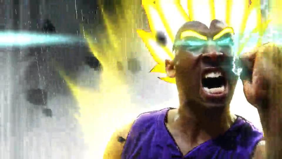 Enlace a Kobe Bryant transformándose en Super Saiyan
