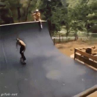Enlace a Cuando tu perro decirte robarte el skate en el peor momento posible