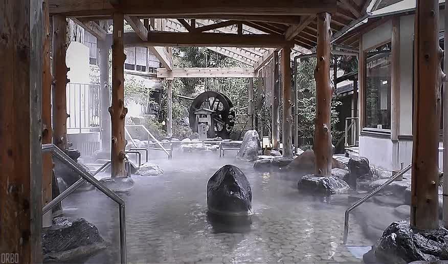 Enlace a El spa de Misasa lleva 850 años funcionando