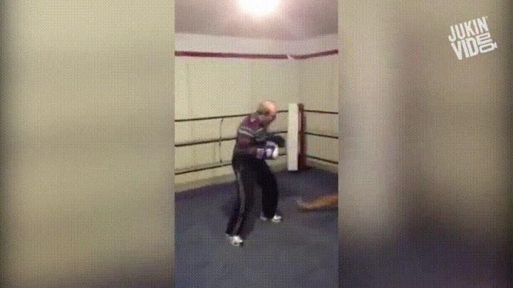 Enlace a Nunca subestimes a un boxeador con años de experiencia