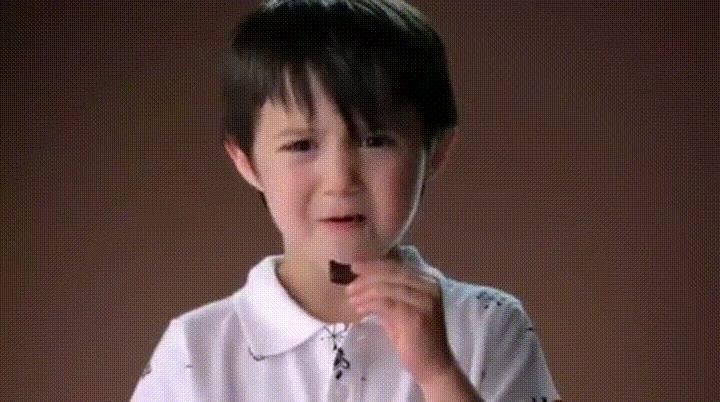 Enlace a La reacción de unos niños cuando prueban el chocolate negro