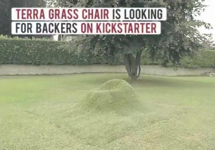 Enlace a Ya puedes construir tu propia silla hecha de césped