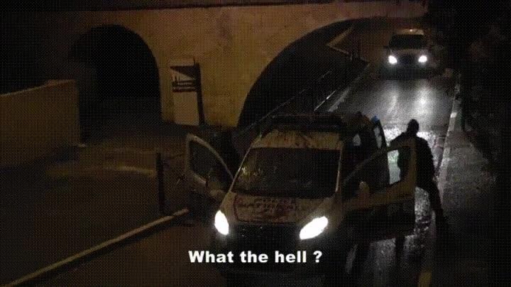 Enlace a El típico búho gigante que te tira arena en el coche