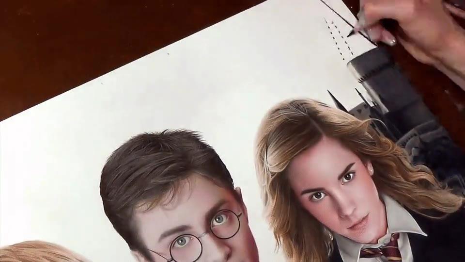Enlace a Así se crea una ilustración de Harry Potter que te dejará sin palabras