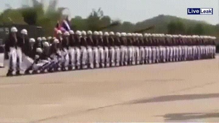 Enlace a Ejercicio militar de prácticas en Thailandia