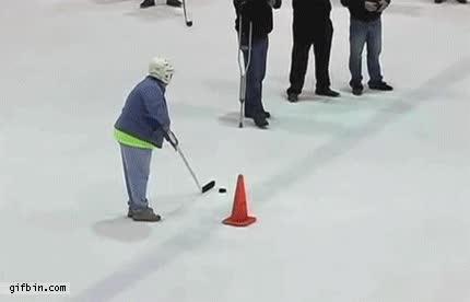 Enlace a El hole in one del mundo del hockey