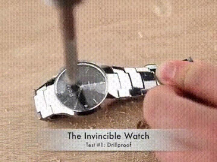 Enlace a Reloj resistente a todo tipo de arañazos