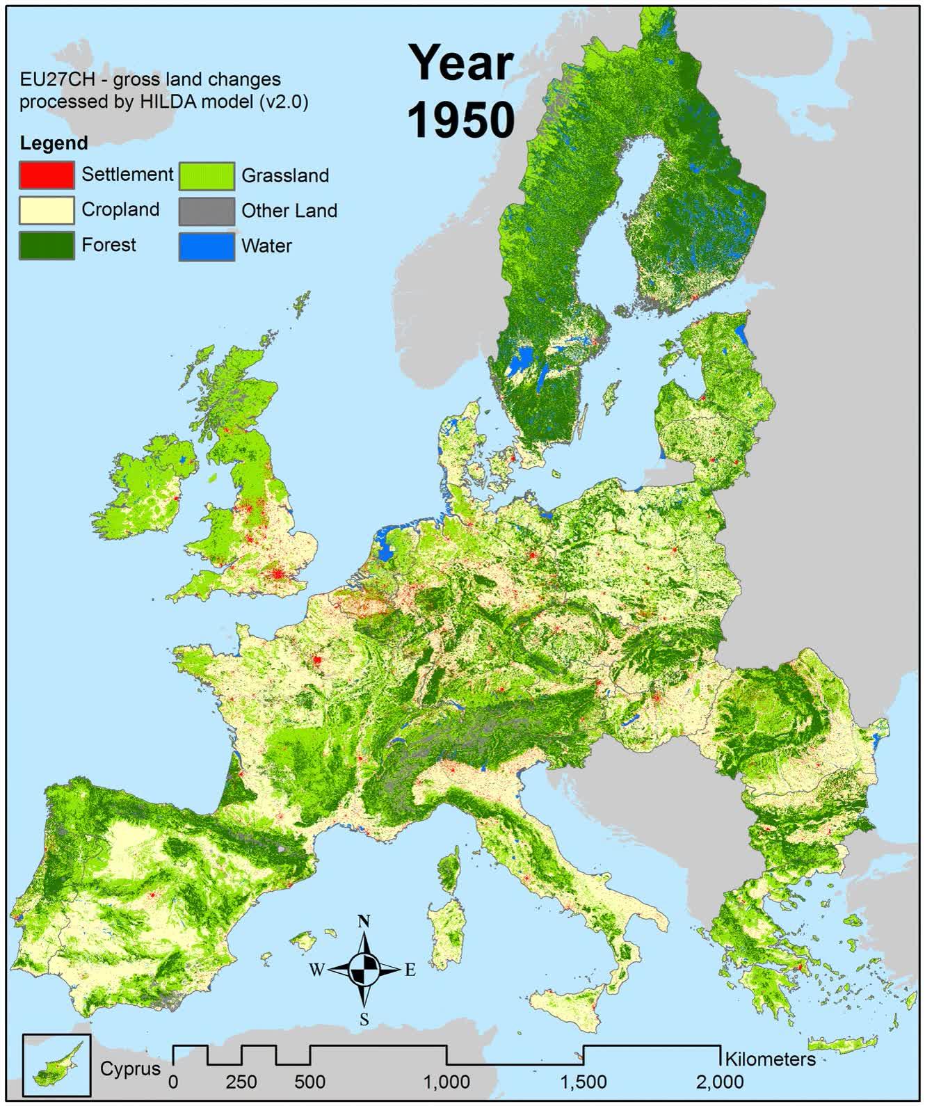 Enlace a No todo son malas noticias. Europa está más verde que hace 100 años