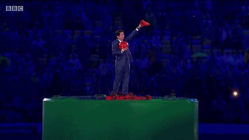 Enlace a El momento más épico de ceremonia de clausura de Río 2016