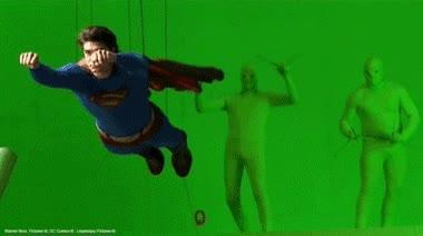 Enlace a Cómo hacían volar la capa de Superman. Es un poco decepcionante