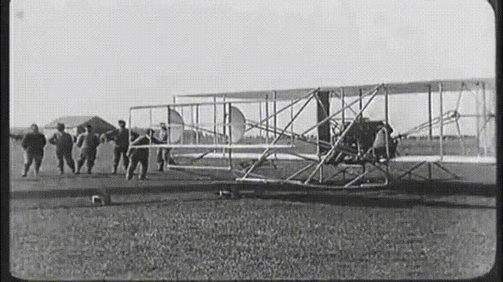 Enlace a La primera grabación que se hizo desde un aeroplano