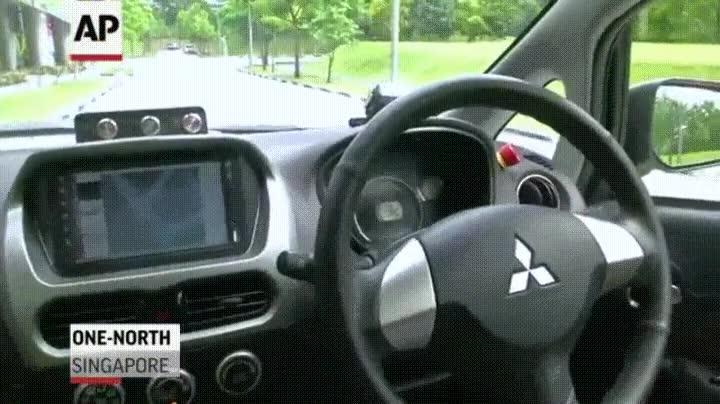Enlace a El primer taxi no tripulado de Singapur