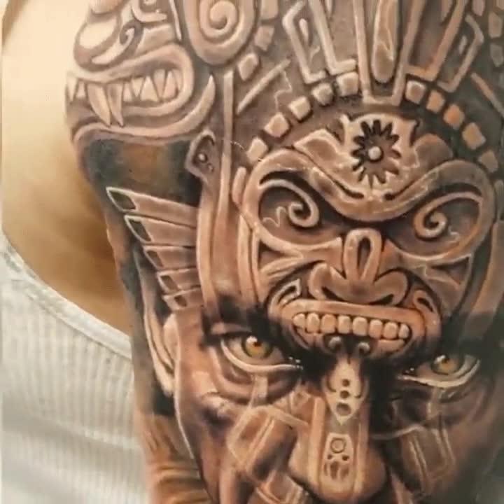 Enlace a Uno de los tatuajes más realistas que existen