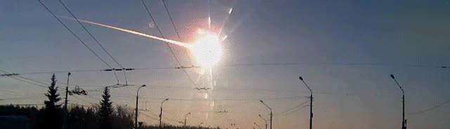 Enlace a Ver caer un meteorito en slow motion