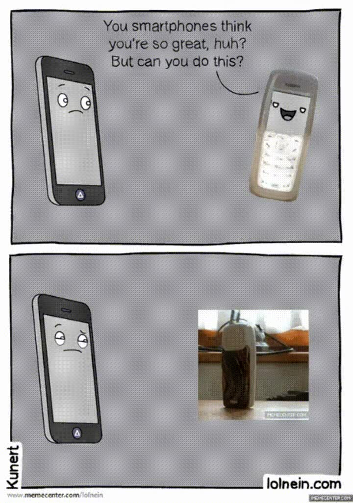 Enlace a Smartphones, nunca podréis molar tanto como un Nokia 1110