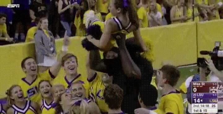 Enlace a Shaq es lo mejor que le puede pasara una cheerleader