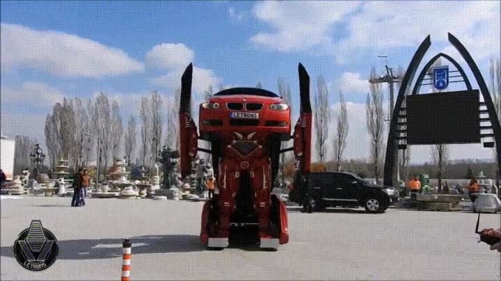 Enlace a Transformers en la vida real