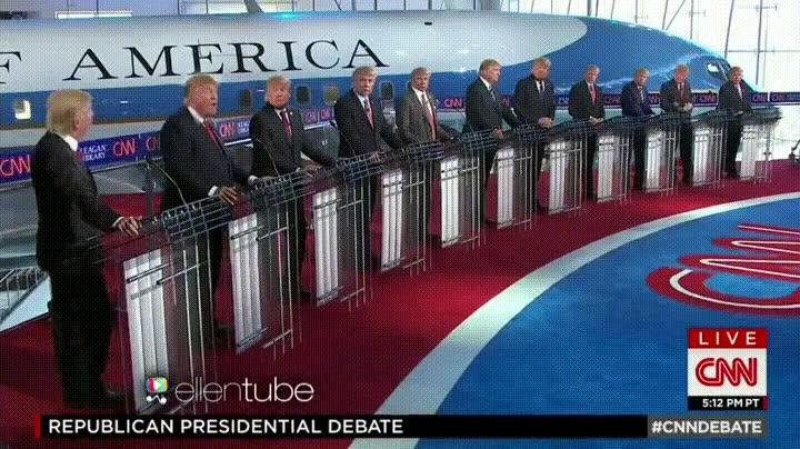 Enlace a La única manera de que Donald Trump gane un debate