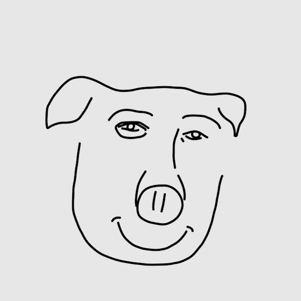 Enlace a Cómo dibujar un cerdo en pocos pasos, por Kyle Smith