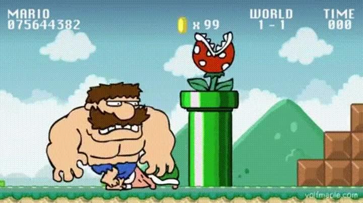 Enlace a La pantalla más difícil de Super Mario Bros