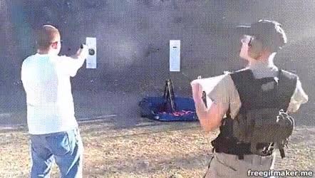Enlace a Recogedor de casquillos de bala. Un trabajo como cualquier otro