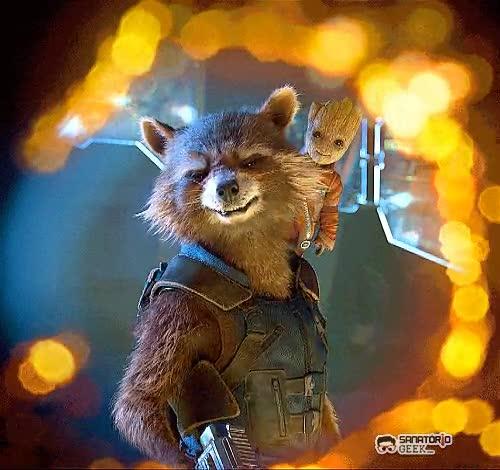 Enlace a Baby Groot es lo más adorable del universo