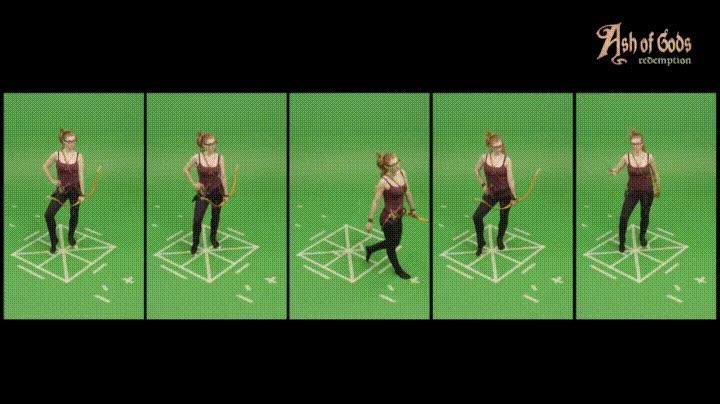 Enlace a Así se capturan los movimientos de los personajes de videojuegos