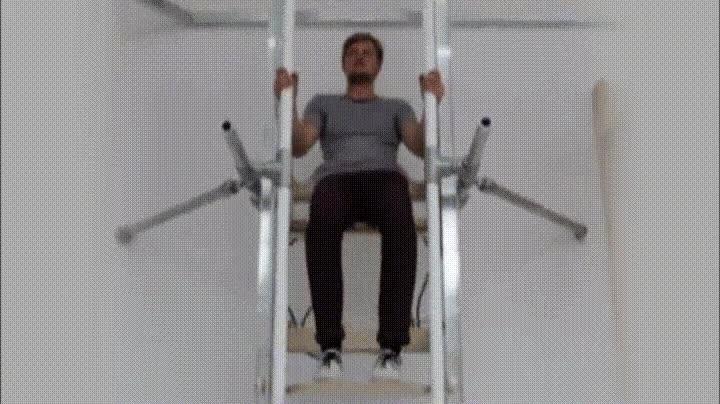 Enlace a El Vertiwalk te permite subir grandes alturas utilizando solo un 10% de energia
