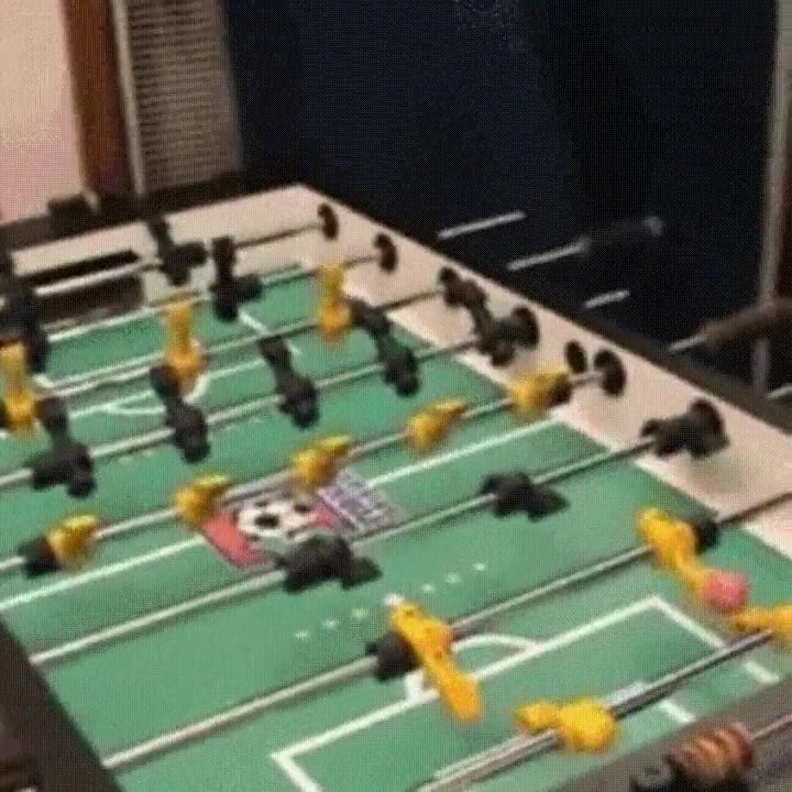 Enlace a Un truco infalible para ganar todas las partidas de futbolín