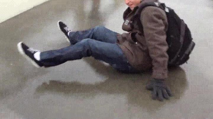 Enlace a Cuando decides ir a la escuela sin levantar el trasero del suelo