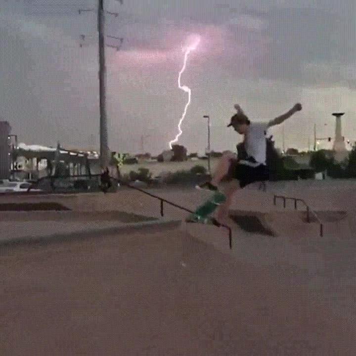 Enlace a No se me ocurre una forma más épica de hacer trucos con el skate