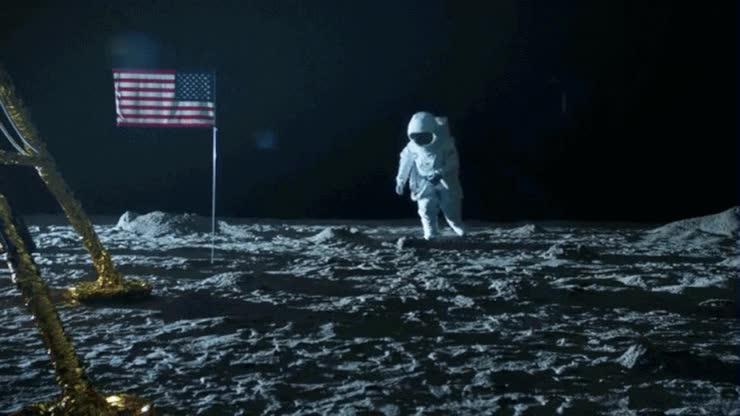 Enlace a La grabación de la llegada del hombre a la luna tuvo que rodarse dos veces por culpa de un despistad