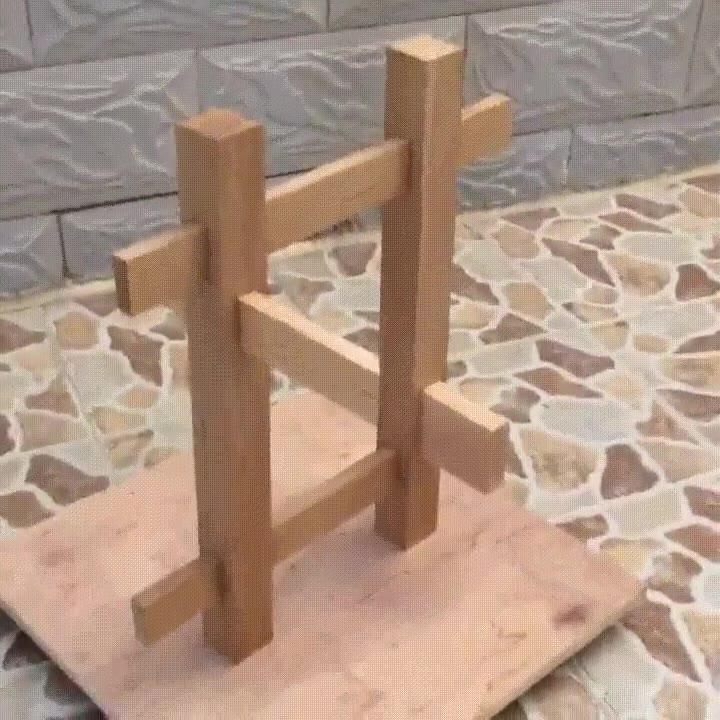 Enlace a Ilusión óptica con simples trozos de madera