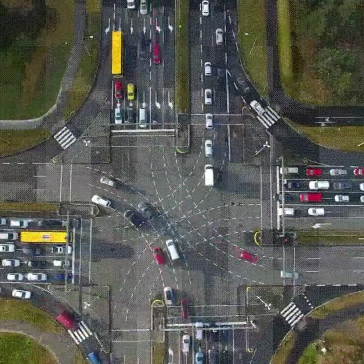 Enlace a Una simple intersección en Reykjavík