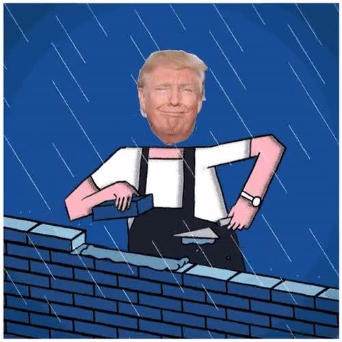 Enlace a Mientras tanto, Donald Trump en su primer día de presidente de EE.UU