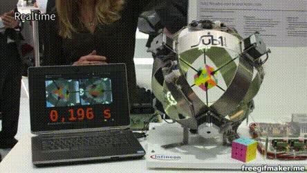 Enlace a Nuevo récord mundial en resolver el cubo de rubik. Y no lo ha conseguido un hombre