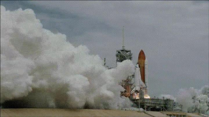 Enlace a Lanzamiento de un cohete a 60fps