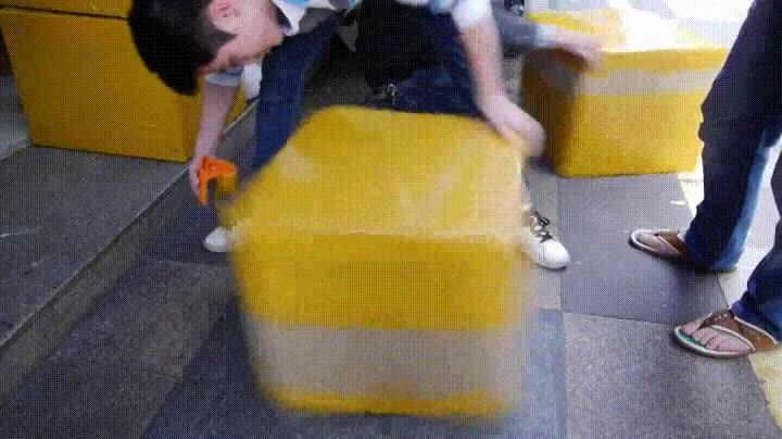 Enlace a Embalando paquetes de forma hipnótica